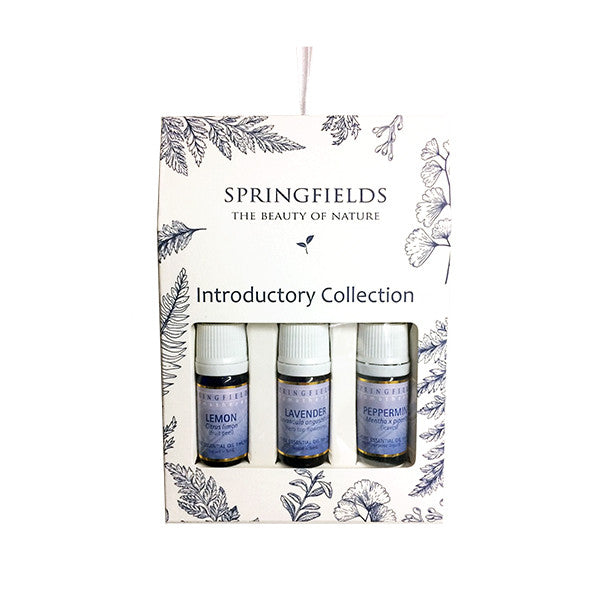 Springfields Essential Oil Trio, Introductory Collection