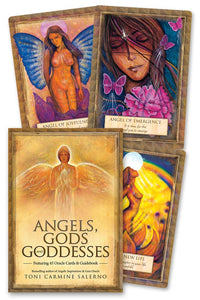 Angels, Gods and Goddesses Oracle Cards; Toni Carmine Salerno