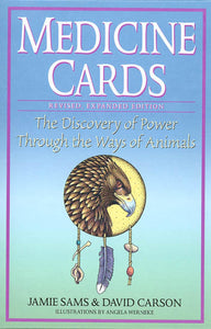 Medicine Cards, The Discovery Of Power Through the Ways of Animals; Jamie Sams & David Carson