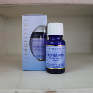 Springfields Peppermint 11ml Pure Essential Oil