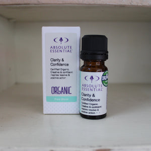 Absolute Essential Clarity & Confidence (Organic) 10ml Pure Blend