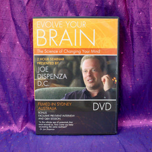 Evolve Your Brain: The Science of Changing Your Mind DVD Joe Dispenza