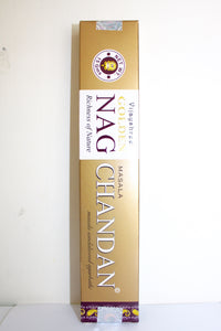Vilayshree Golden NAG Chandan Incense, Masala Sandalwood