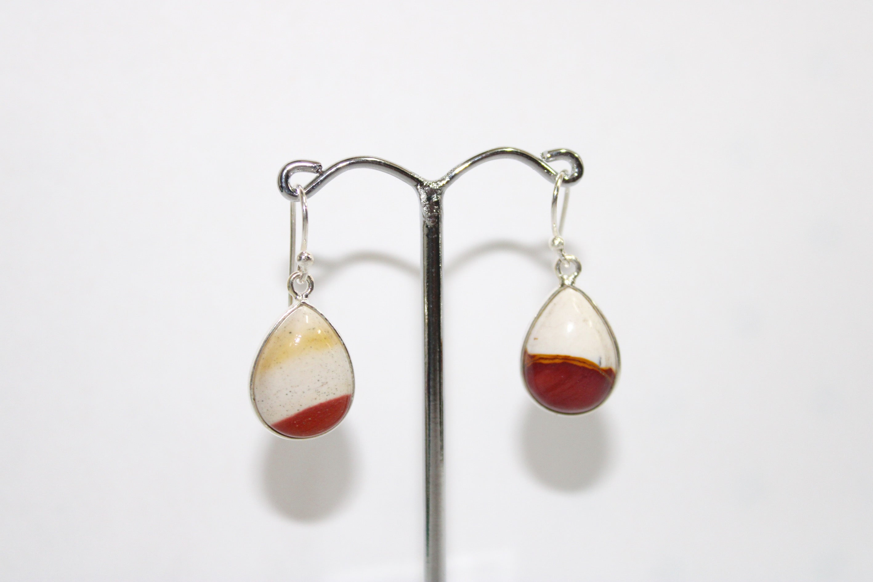 Mookaite Jasper Sterling Silver Earrings