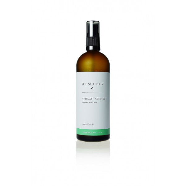 Springfields Apricot Kernel Massage & Body Oil