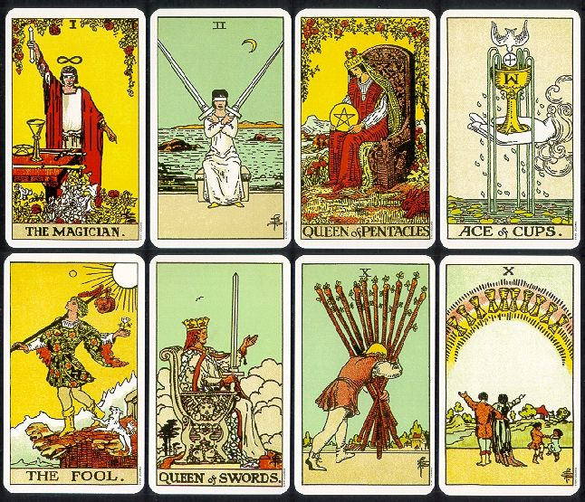 The Rider Tarot Deck Pocket Edition; Arthur Waite