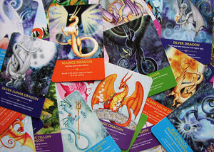 Dragon Oracle Cards; Diana Cooper
