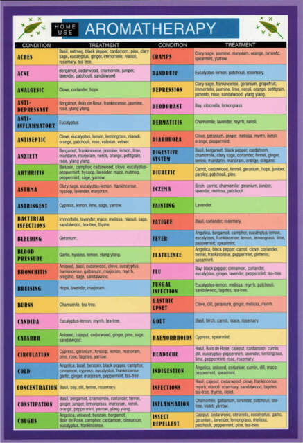 Aromatherapy (Home Use) Mini Chart