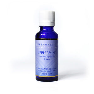 Springfields Peppermint 30ml Pure Essential Oil