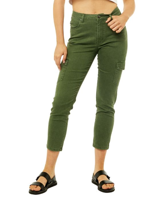 High Rise Relaxed Cargo Pant