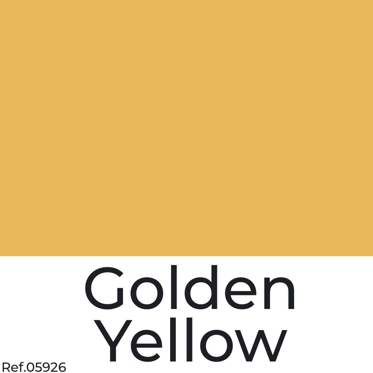 Golden Yellow Color Poster Paper from najamonline.com Abu Dhabi - UAE