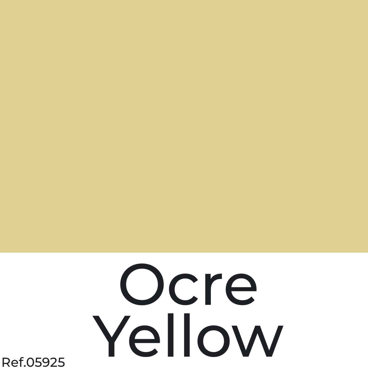 Ocre Yellow Color Poster Paper from najamonline.com Abu Dhabi - UAE