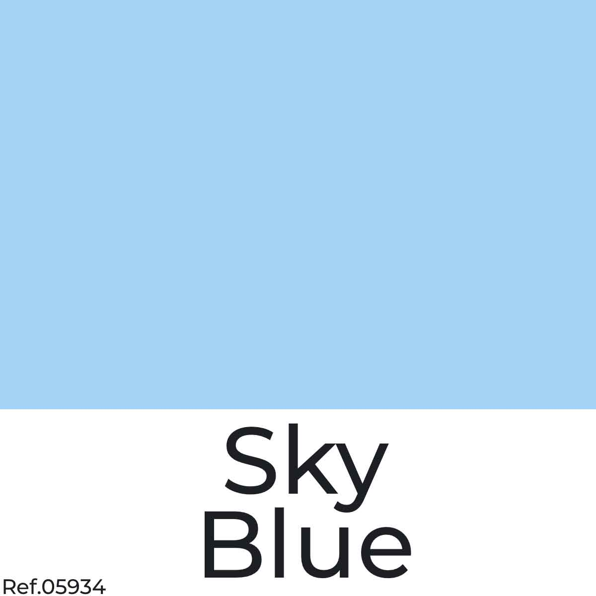 Sky Blue Color Poster Paper from najamonline.com Abu Dhabi - UAE
