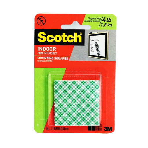 3M Scotch 111 Indoor Mounting Squares