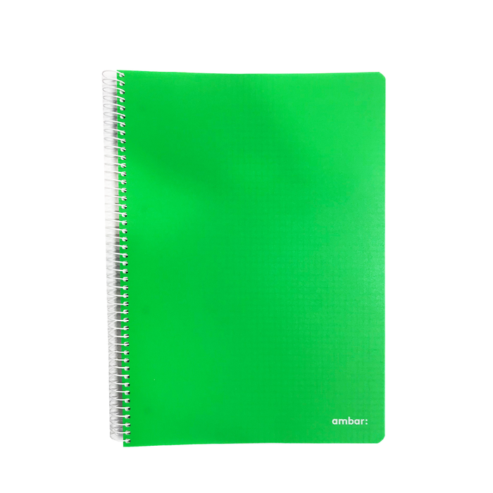 Ambar A4 NoteBook 120 Pages Soft Cover Spiral Bind 5mm