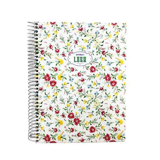 Ambar A5 Notebook 100 Pages Hd Cover 5MM Spiral Bind