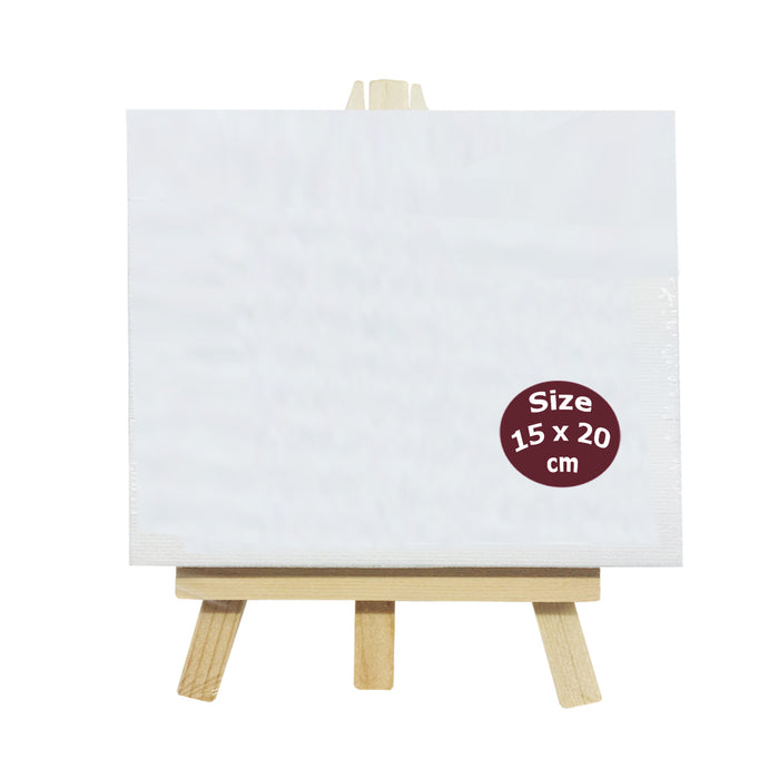 Painting Canvas With Stand 15x20