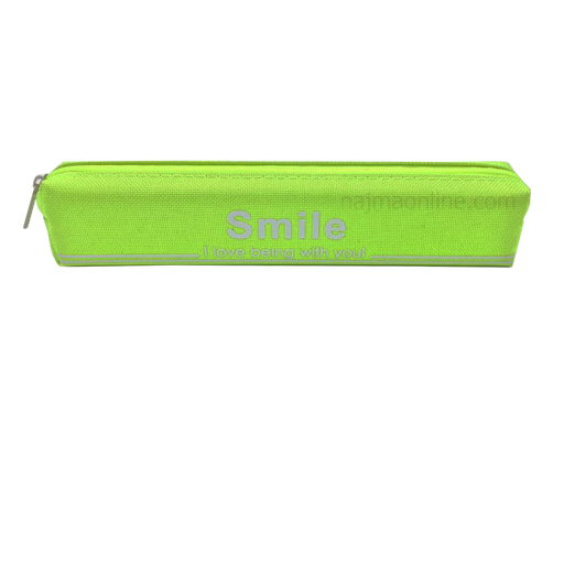 Green Color Pencil Case