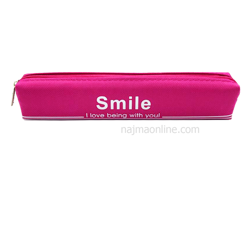 Pink Color Pencil Case