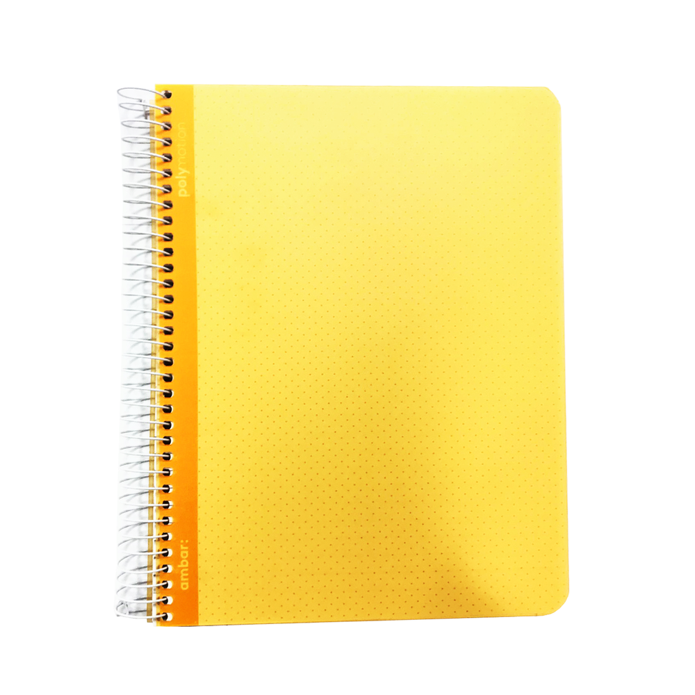 Ambar A5 Notebook 100 Pages Soft Cover Spiral Bind