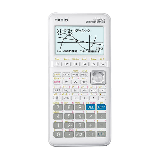 Shop Casio FX-9860GIII Graphing Calculator for Engineering & Classroom | Fast Delivery around UAE