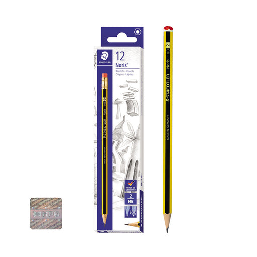 Staedtler Noris HP2 Pencils-Pack of 12