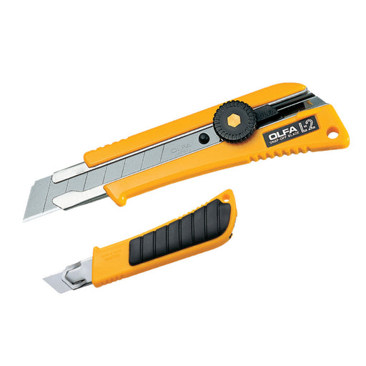 18mm Heavy-Duty Utility Knife w/ Anti-Slip Grip L-2