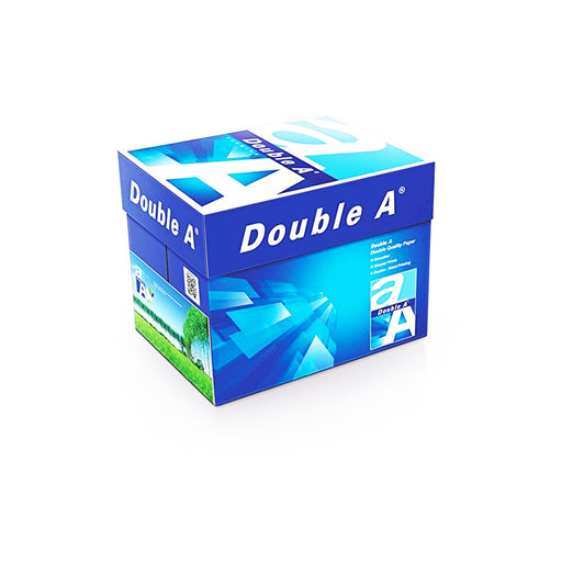 Double A Premium A4 Paper 80gsm 5 Ream Box from najmaonline.com - Fast Delivery in Abu Dhabi, Dubai - UAE