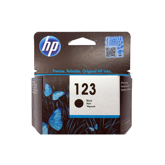Shop HP 123 Black Color Original Ink Cartridge online in Abu Dhabi, UAE