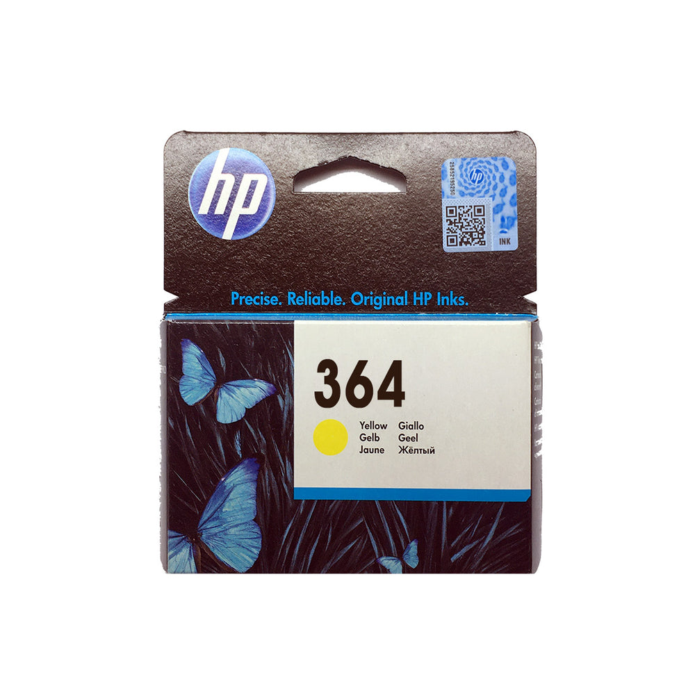 Shop HP 364 Original Ink Cartridge Yellow Color online in Abu Dhabi, UAE