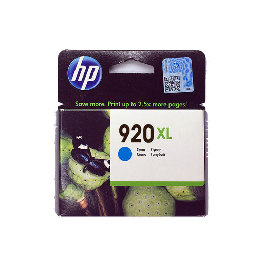 Shop HP 920XL Original Ink Cartridge Cyan Color online in Abu Dhabi, UAE