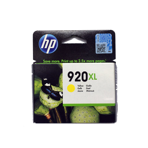 Shop HP 920XL Original Ink Cartridge Yellow Color online in Abu Dhabi, UAE