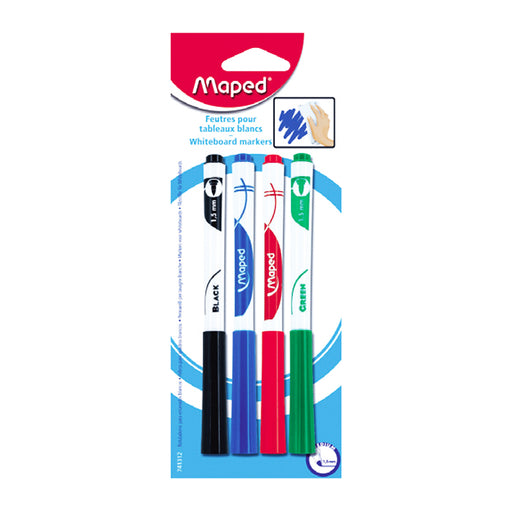 Maped Whiteboard Marker -4 Color Set