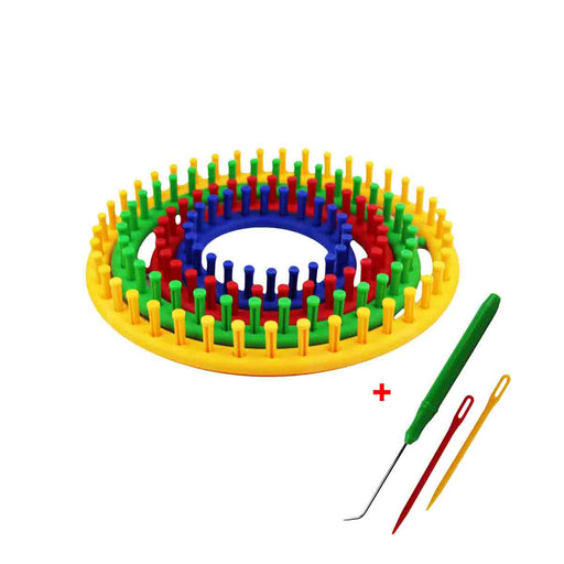 Shop Plastic Loom 4 Size Set + Needles online in Abu Dhabi, UAE