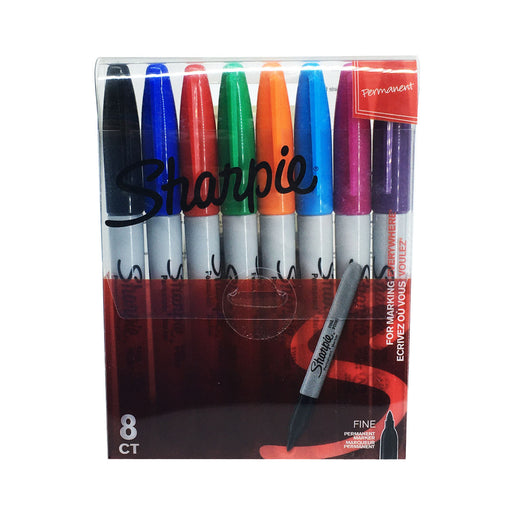 Sharpie Permanent Marker 8 Color Set Model S0814660