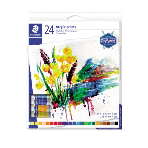 Staedtler Acrylic Paints -24 Color Set