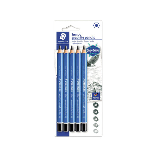 Staedtler Artist Jumbo Drawing Pencils - Pack of 5