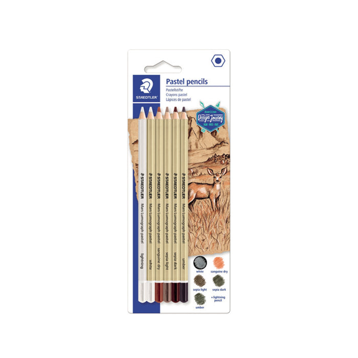 Staedtler Artist Pastel Pencils - Pack of 6