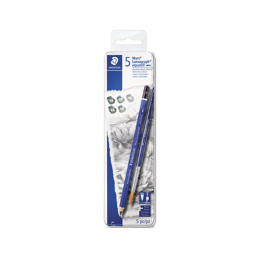 Staedtler Artist Pencils -Pack of 5+1 Brush