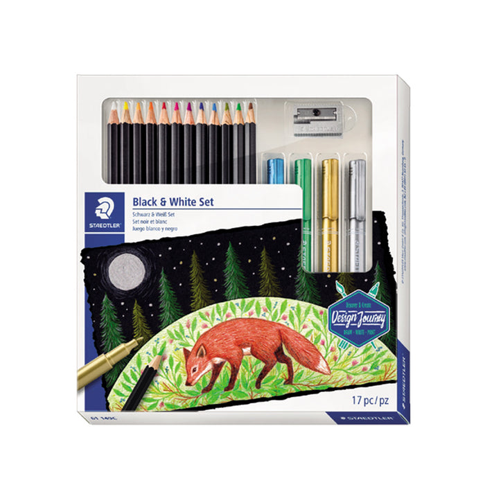 Staedtler Colored Pencil & Marker Combo Set