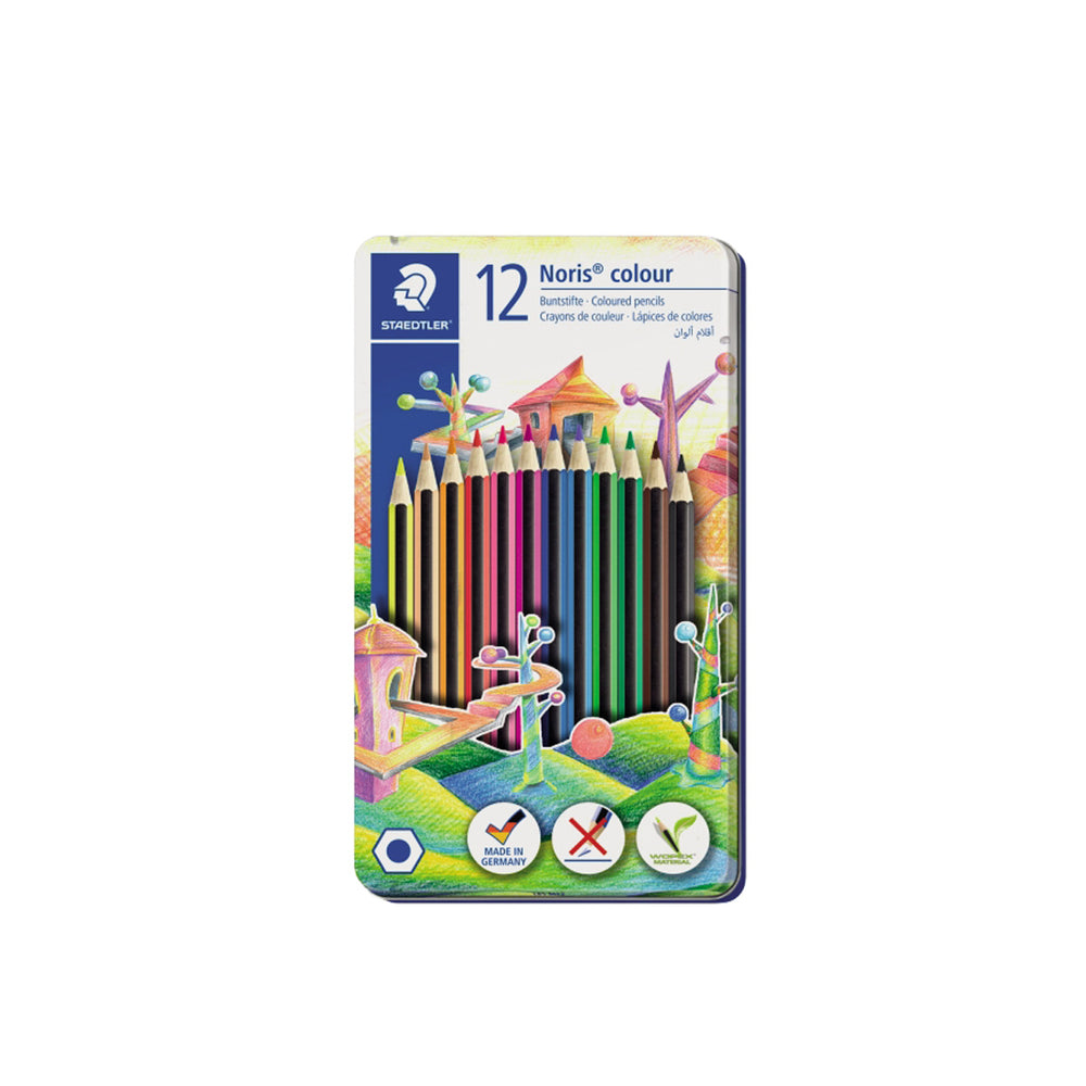 Staedtler Colored Pencils -12 Color Metal Box