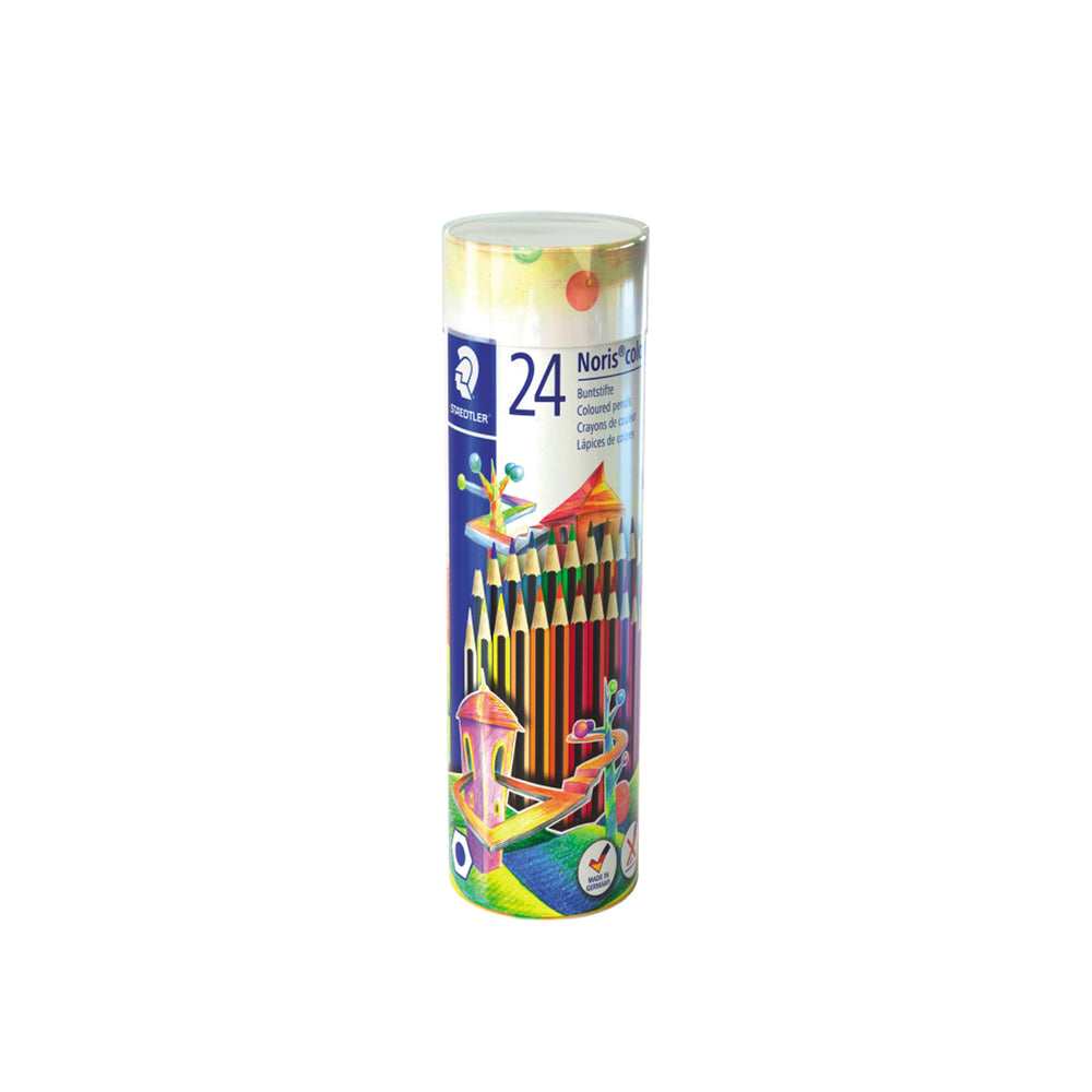 Staedtler Colored Pencils -24 Color Cylindrical Box