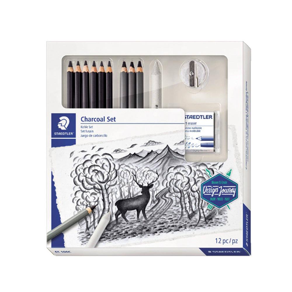 Staedtler Combo Set of Drawing & Charcoal Pencils