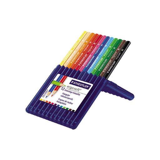 Staedtler Ergosoft Colored Pencil -12 Colors Set