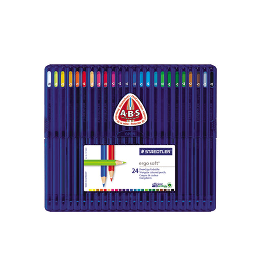 Staedtler Ergosoft Colored Pencil -24 Colors Set