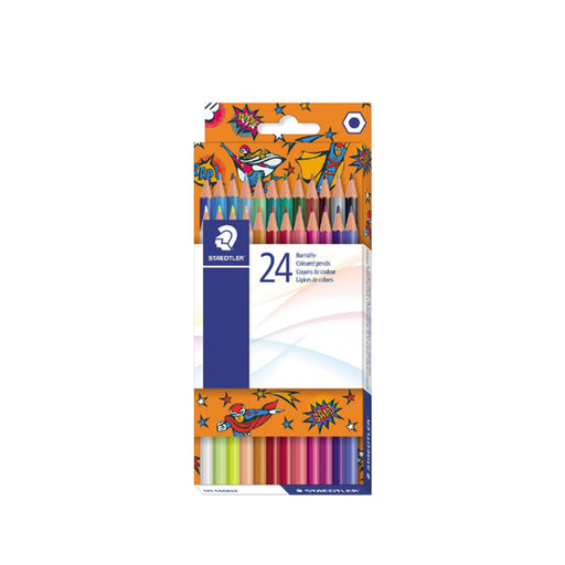 Staedtler New Colored Pencils -24 Color Pack