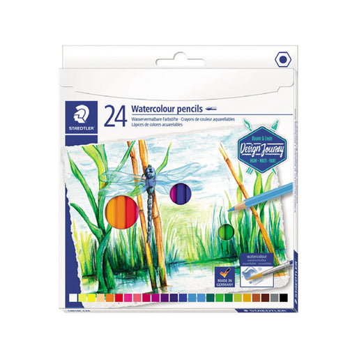 Staedtler New Watercolor Pencils -24 Colors Set