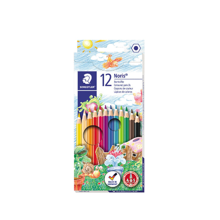 Staedtler Noris 12 Color Pencil Set