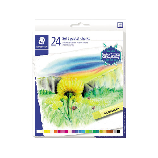 Staedtler Soft Pastel -24 Colors Set