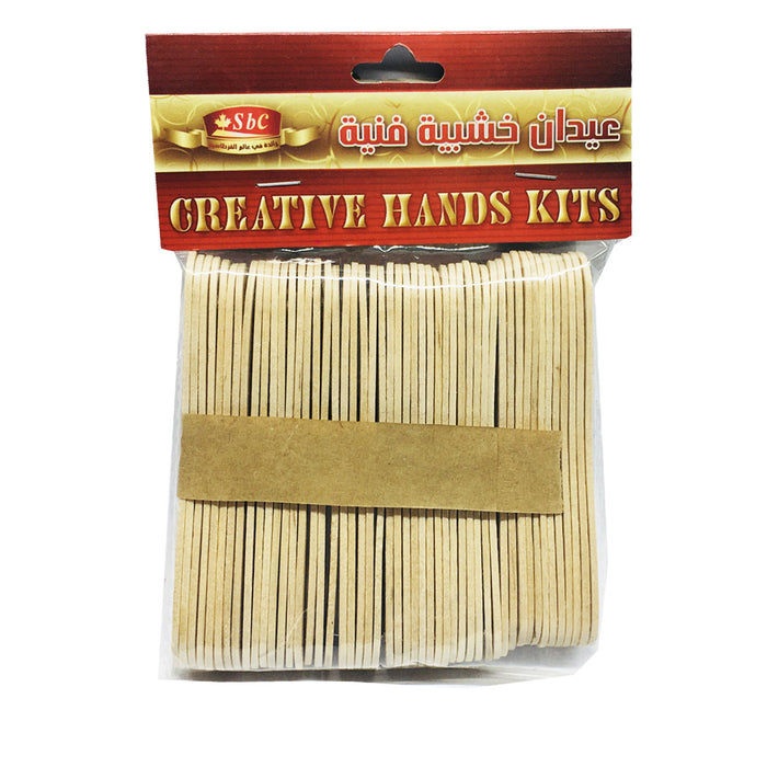 Wooden Popsicle Craft Sticks  For Best Price in Abu Dhabi